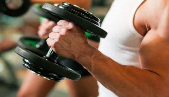 Gewichte-Training