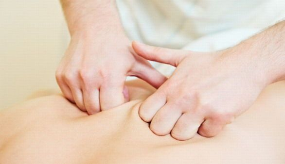 Massage-Handgriffe