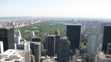 Blick vom Rockefeller Center