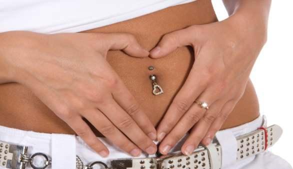 Bauchnabel piercing schwanger