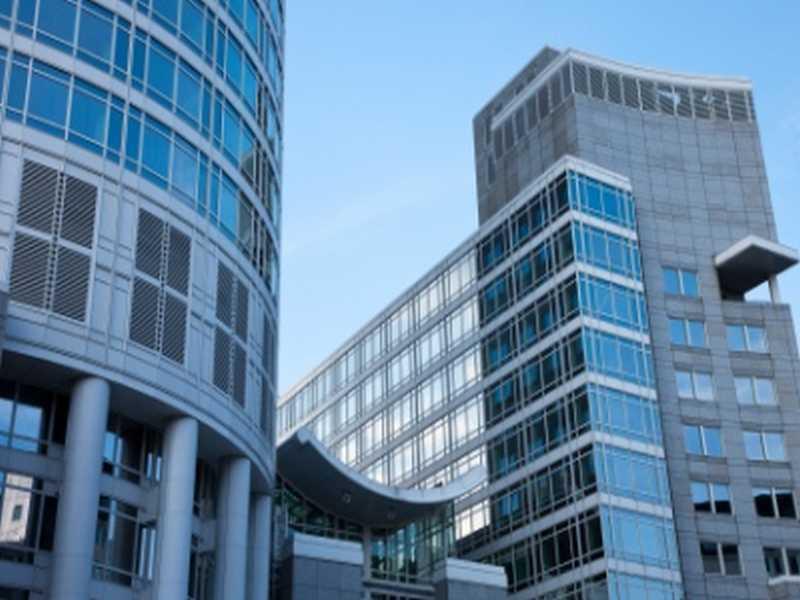 Bürogebäude in Frankfurt